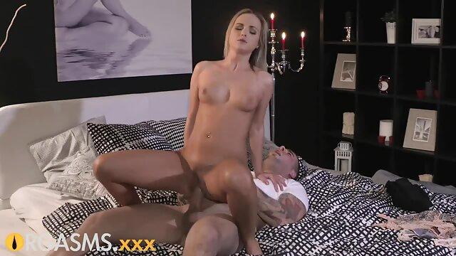 Pareja rusa cogiendo con mi mami borracha teniendo sexo en la cocina